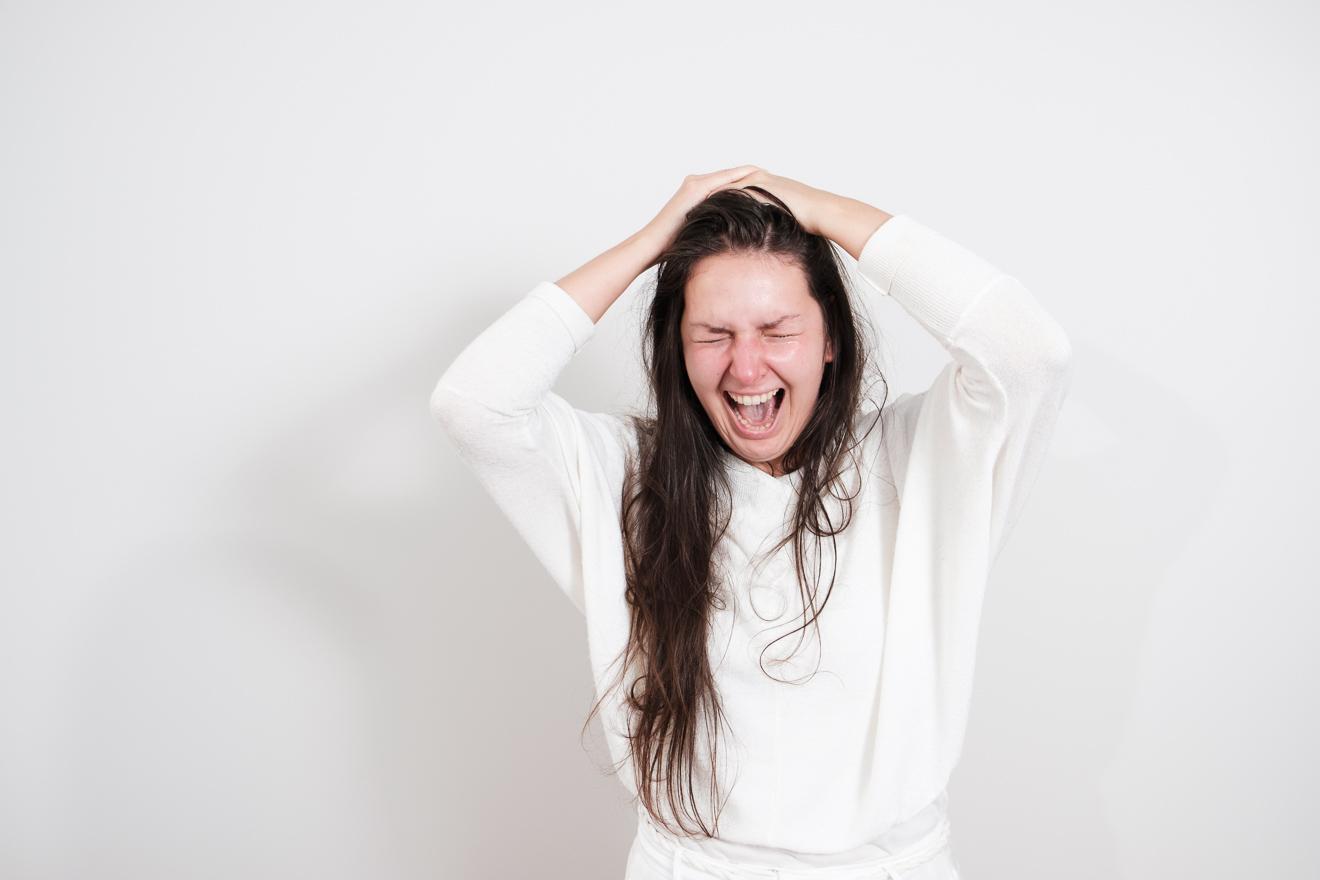 Wut und Ärger kann zum Ausdruck kommen im Coaching