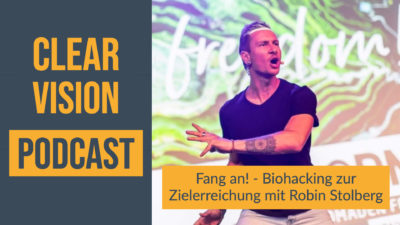 Robin Stolberg im Interview zu Biohacking