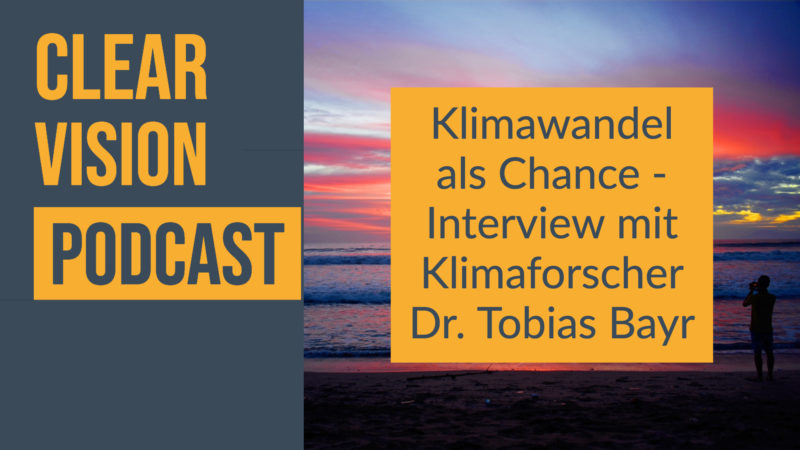 Klimaforscher Tobias Bayr im Interview