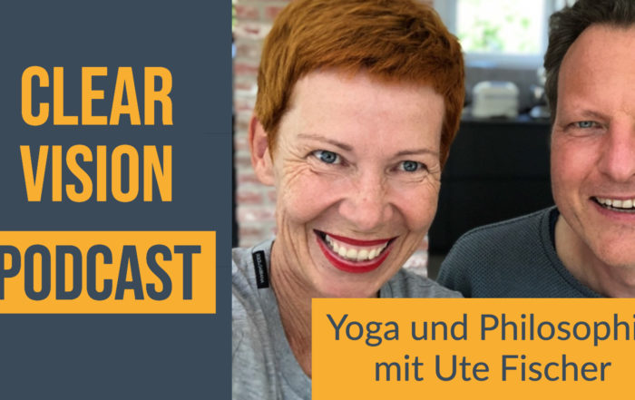 Titel Clearvision Podcast Interview mit Ute Fischer