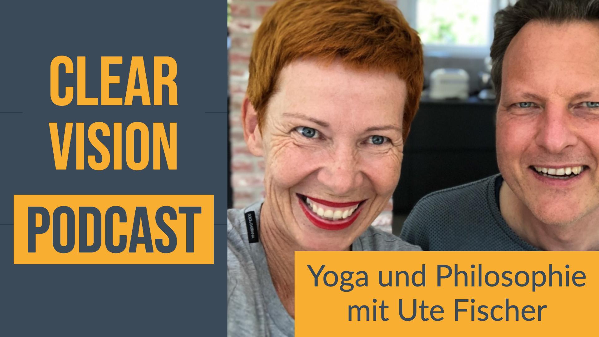 Titel Clearvision Podcast Interview mit Ute Fischer