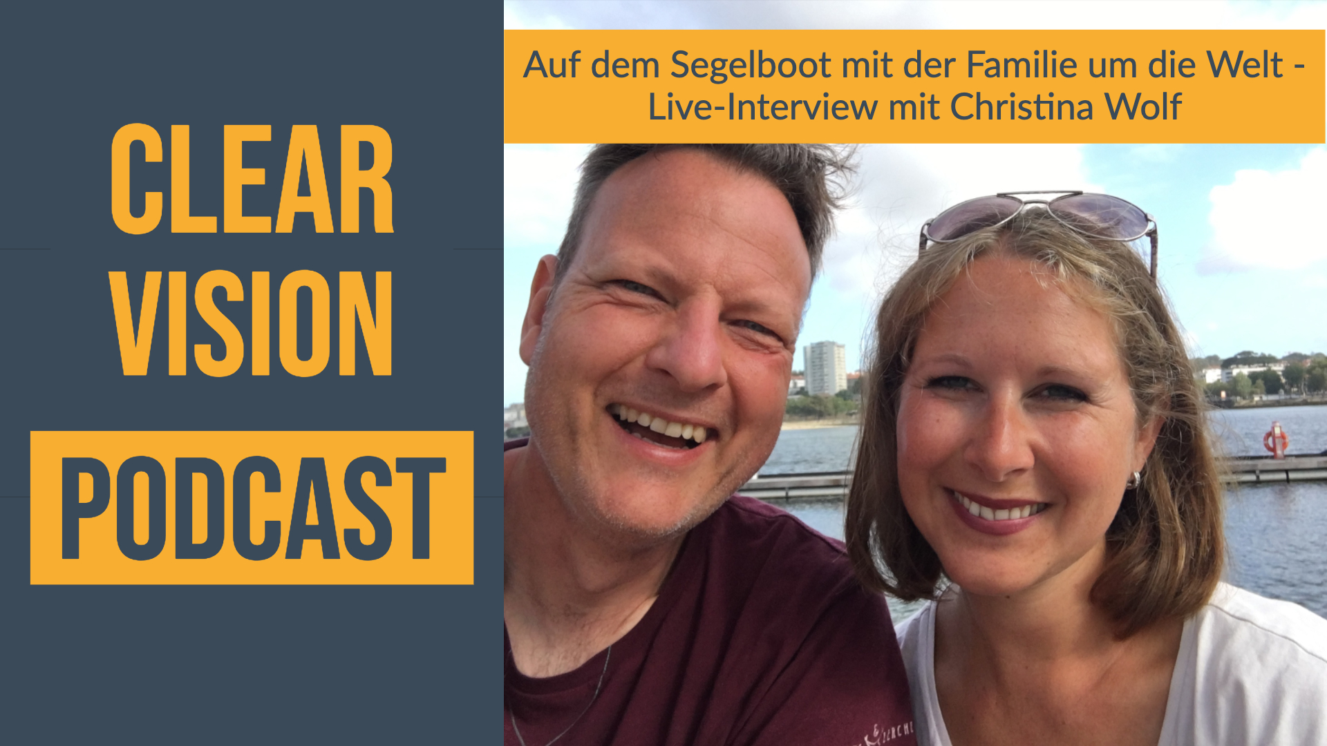 Christina Wolf lebt mit ihrer Familie auf einem Segelboot