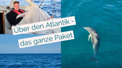 hendrik roggemann im segelboot ueber den atlantik