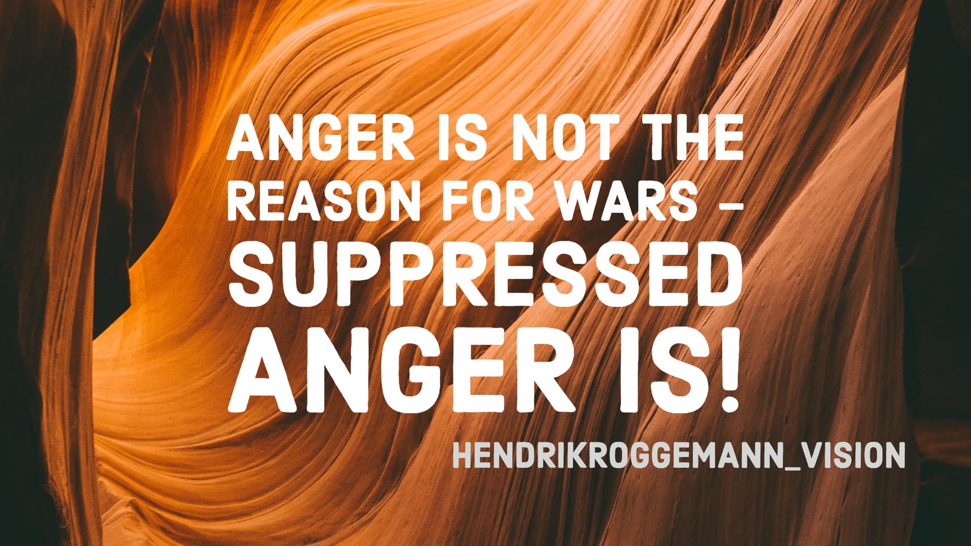 Wut ist nicht die Ursache
